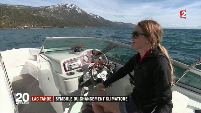 Lac Tahoe : symbole du changement climatique