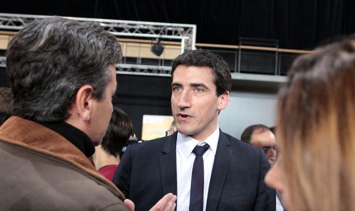 Le maire de Niort Jérôme Baloge ici en 2015.  (BENOIT FELACE)