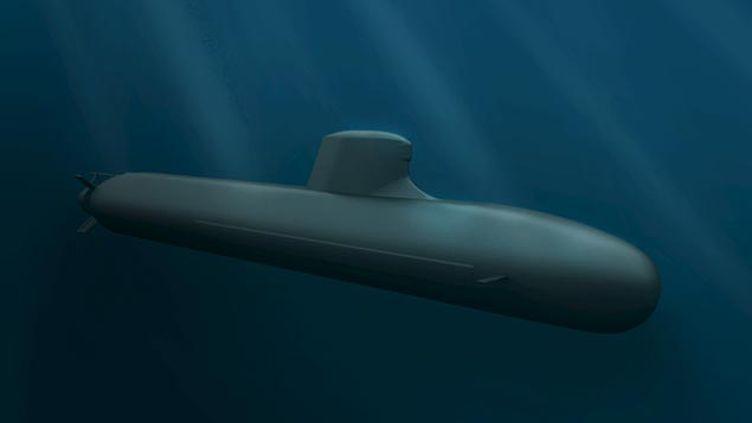 (Le modèle diesel-électrique du sous-marin à propulsion nucléaire Barracuda vendu à l'Australie © REUTERS)