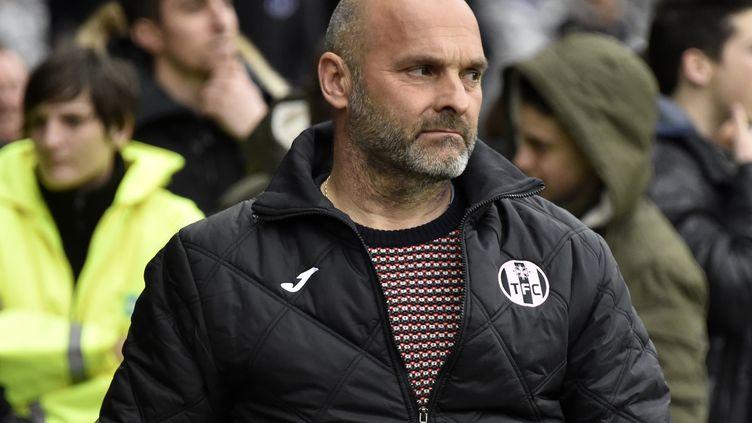 Pascal Dupraz n'est plus l'entraîneur du TFC (PASCAL PAVANI / AFP)