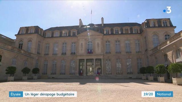 Budget de l'Élysée : le palais présidentiel a puisé dans sa réserve