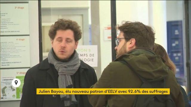 Julien Bayou devient le nouveau patron d'EELV