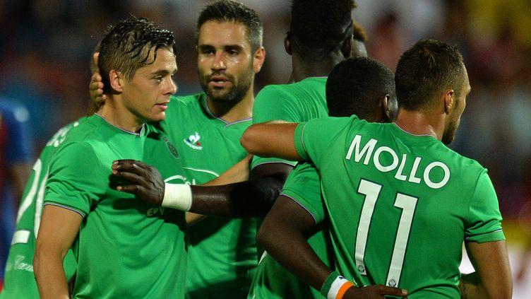 Les Verts se déplaceront en Moldavie lors du match aller qui aura lieu le 20 août. (DANIEL MIHAILESCU / AFP)