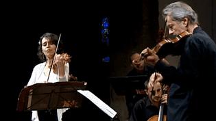 Concert d'ouverture du festival de musique du Haut-Jura  (Capture d'image France3/Culturebox)