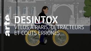 Désintox. Non, la mairie de Paris n'a pas investi 25 000 euros par cycliste pour le plan vélo (ARTE/LIBÉRATION/2P2L)