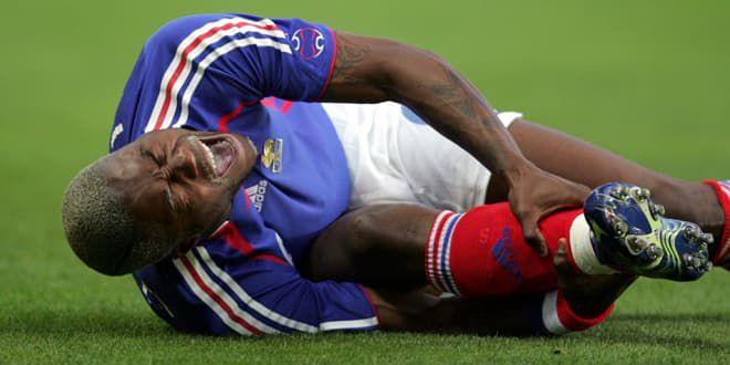 Djibril Cissé victime d'une fracture tibia-péroné avant le Mondial-2006
