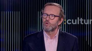 Le journalisteMichel Mompontet (FRANCEINFO)