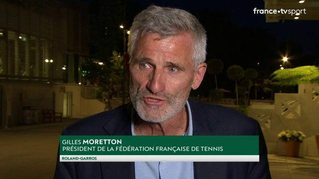 1/2 finale : l'interview de Gilles Moretton qui a arraché la dérogation pour le maintien du public