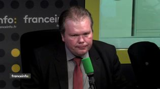 Jean-Baptiste Moreau,député de la Creuse, le 30 janvier 2018. (RADIO FRANCE / FRANCEINFO)