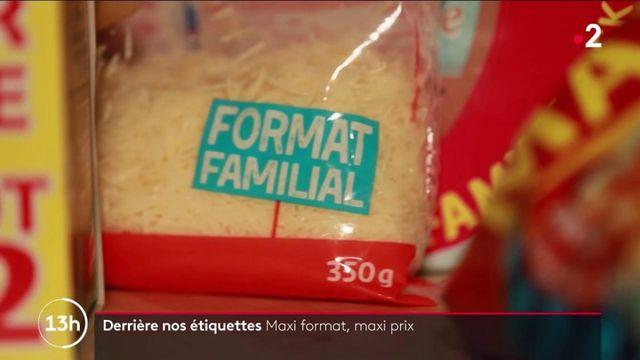 Consommation : des articles vendus en format familial plus chers qu'attendu