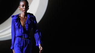 Saint Laurent automne-hiver 2020-21 à la Paris Fashion Week, le 25 février 2020 (ANNE-CHRISTINE POUJOULAT / AFP)
