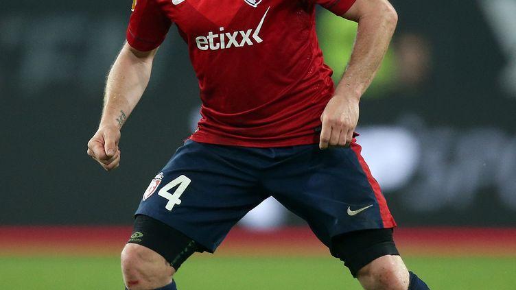 Le joueur de Lille, Florent Balmont (RONNY HARTMANN / AFP)