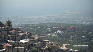 Vue de la capitale Port-au-Prince, 2017 (HECTOR RETAMAL / AFP)