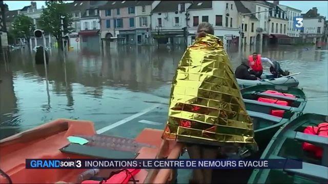 Nemours est submergée par les flots