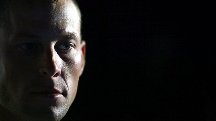 Le coureur cycliste américain Lance Armstrong, le 8 juin 2003. (FRANCK FIFE / AFP)