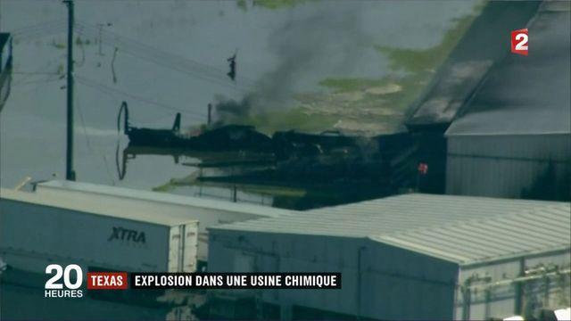 Texas : double explosion dans une usine chimique près de Houston