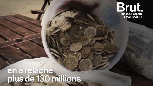 Des millions de petits filtres en plastique pleins de germes ont été rejetés dans la mer Méditerranée et sont retrouvés sur le sable. En Corse, Pierre-Ange lance l'alerte sur la pollution aux biomédias...