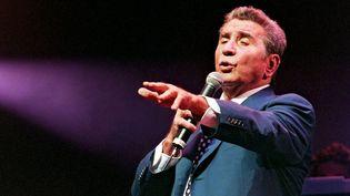 Gilbert Bécaud en concert à L'Olympia en 1999  (MAXPPP)