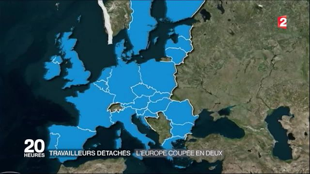 Travailleurs détachés : l'Europe divisée en deux sur la réforme de la Commission européenne