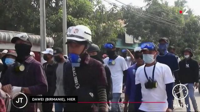 Birmanie : l'ONU condamne les violentes répressions anti-manifestants