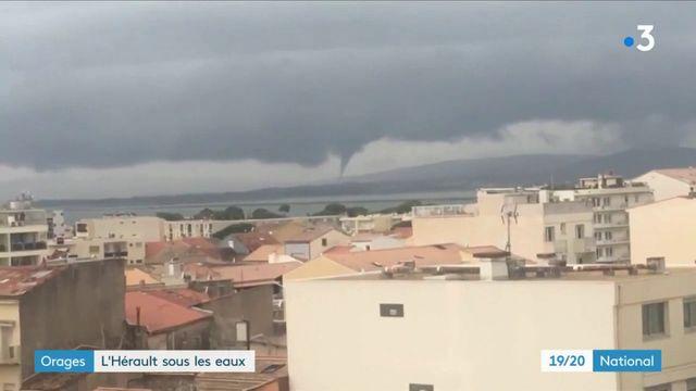 Orages : l'Hérault sous des trombes d'eau