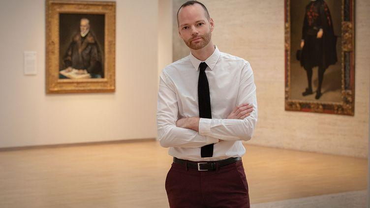 Guillaume Kientz, le nouveau directeur du Hispanic Society Museum de New York (© photo Robert LaPrelle)