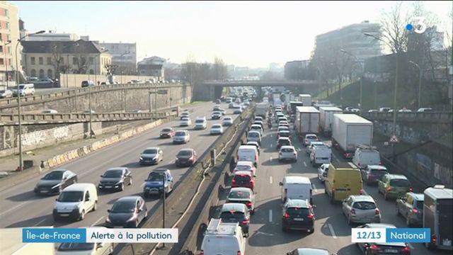 Île-de-France : alerte à la pollution