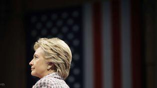 La candidate démocrate à la Maison Blanche, Hillary Clinton, durant sa campagne à Fort Pierce (Floride), le 30 septembre 2016. (MATT ROURKE / AP / SIPA)