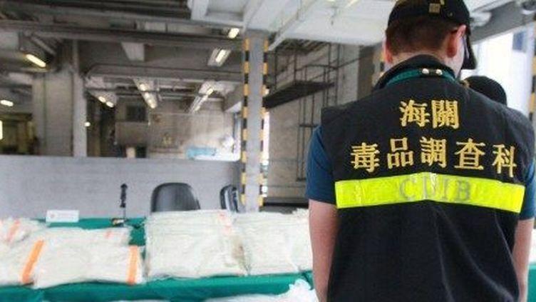 Hong Kong, saisie de kétamine, le 1er juin 2012. (AFP)