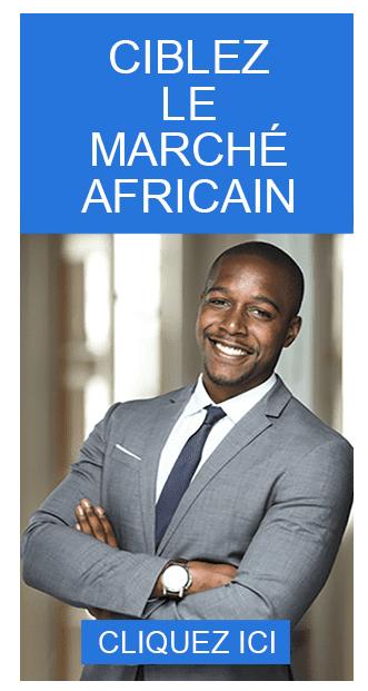 Encart publicitaire destiné aux annonceurs sur Happy in Africa !