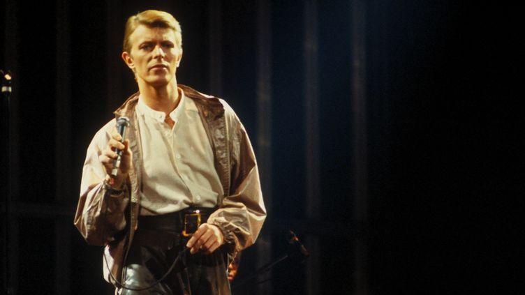 David Bowie durant sa tournée mondiale Low/Heroes en 1978, ici au Madison Square Garden de New York.  (Richard E.Aaron/Redferns / Getty Images)