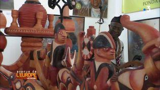 """Avenue de l'Europe. Restitution des œuvres d'art spoliées à l'Afrique : un prince camerounais dénonce """"les lacunes"""" et """"l'arrogance"""" des Européens (FRANCE 3 / FRANCETV INFO)"""