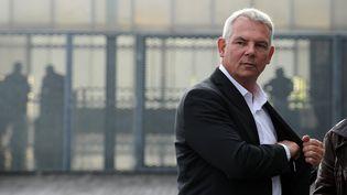 L'ancien secrétaire général de la CGT, Thierry Lepaon, le 9 octobre 2014. (NICOLAS TUCAT / AFP)