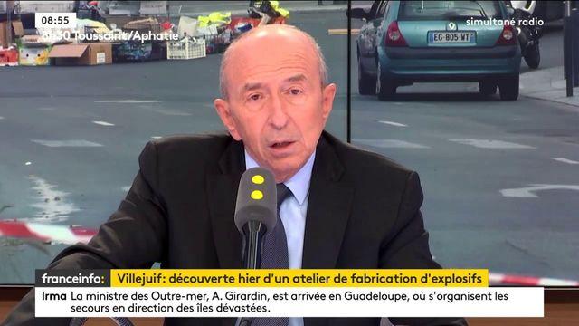 """#Villejuif Les interpellés """"parlent d'avoir voulu faire sauter des guichets de banque"""" Collomb"""