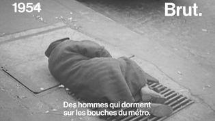VIDEO. En 1954, l'appel de l'Abbé Pierre pour venir en aide aux sans-abri (BRUT)