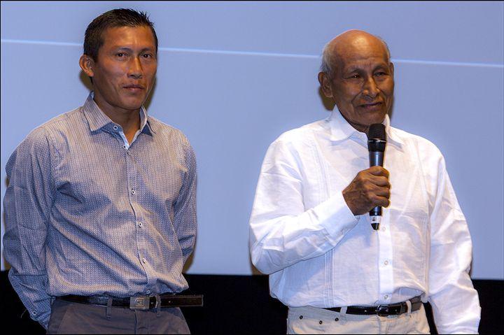 Nilbio Torres et Antonio Bolivar  (Jean-François Lixon)