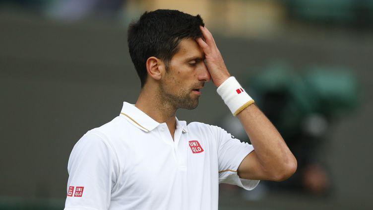 Novak Djokovic a connu une fin d'année laborieuse (  BEN QUEENBOROUGH / BACKPAGE IMAGES LTD)