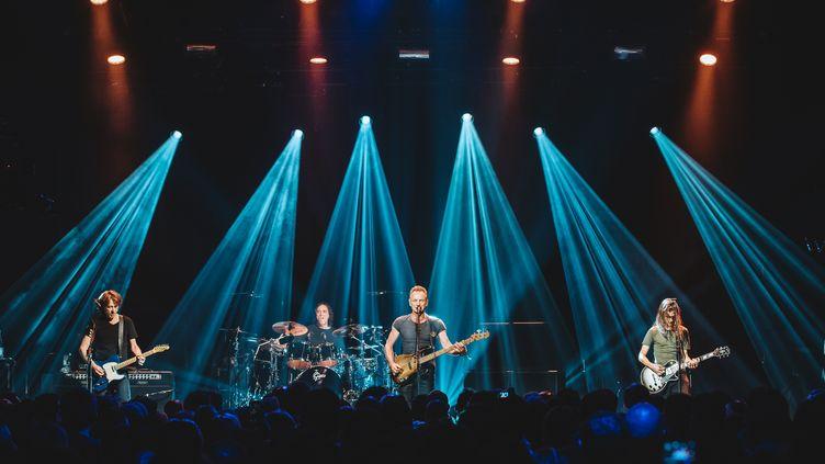 Le concert de Sting le 12 novembre 2016 au Bataclan, à Paris. (BORIS ALLIN / HANS LUCAS)