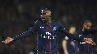 Blaise Matuidi durant le match face à Monaco, le 29 janvier 2017, à Paris. (Photo d'illustration) (FRANCK FIFE / AFP)