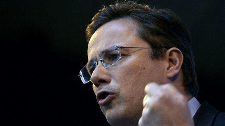 Nicolas Dupont-Aignan est le candidat de Debout la République à la présidentielle de 2012 (LOIC VENANCE / AFP)