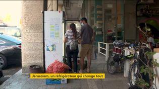 Un frigo solidaire à Jérusalem (FRANCEINFO)