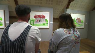 Exposition David Hockney à Pont-l'Evêque dans le Calvados (France 3 Normandie)