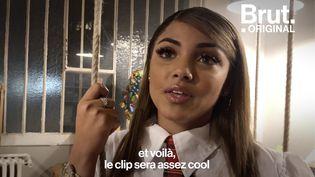 VIDEO. Dans les coulisses du dernier clip de Wejdene (BRUT)