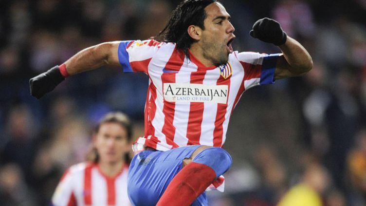 Radamel Falcao (Atletico Madrid) (PEDRO ARMESTRE / AFP)
