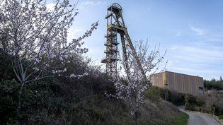 Le site de l'ancienne mine d'or de Salsigne (Aude), fermé en 2004, le 4 mars 2019. (ERIC CABANIS / AFP)