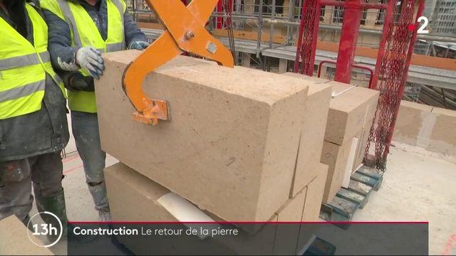 Construction : la pierre et les matériaux naturels ont le vent en poupe
