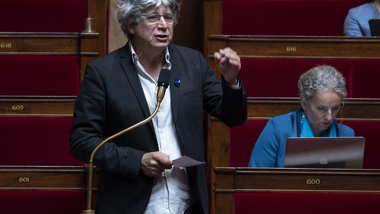 Le député de La France insoumise, Eric Coquerel, à l'Assemblée nationale à Paris, le 8 mai 2020 (photo d'illustration). (THOMAS SAMSON / AFP)