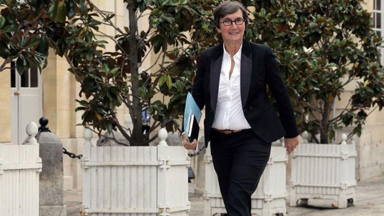 Valérie Fourneyron, le ministre des Sports