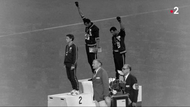 1968 : histoire de la photo des deux afro américains aux JO de Mexico
