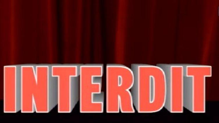 """Capture d'écran du sujet """"Spectacles interdits : les précédents"""" diffusé le 8 janvier dans le Grand Soir 3."""